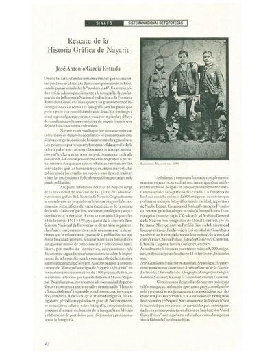 Rescate del la Historia Gráfica de Nayarit