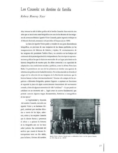 Los Casasola: un destino de familia