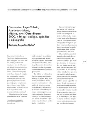 Constantino Reyes-Valerio, Arte indocristiano, México, INAH (Obra Diversa), 2000, 486 pp., epílogo, apéndice y bibliografía