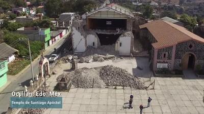 Financiamientos para recuperación del patrimonio cultural tras sismos