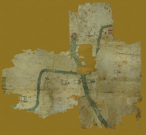 El mapa de Tepecuacuilco