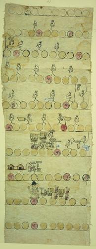 Códices de tributos de Mizquiahuala Poinsett no. 1