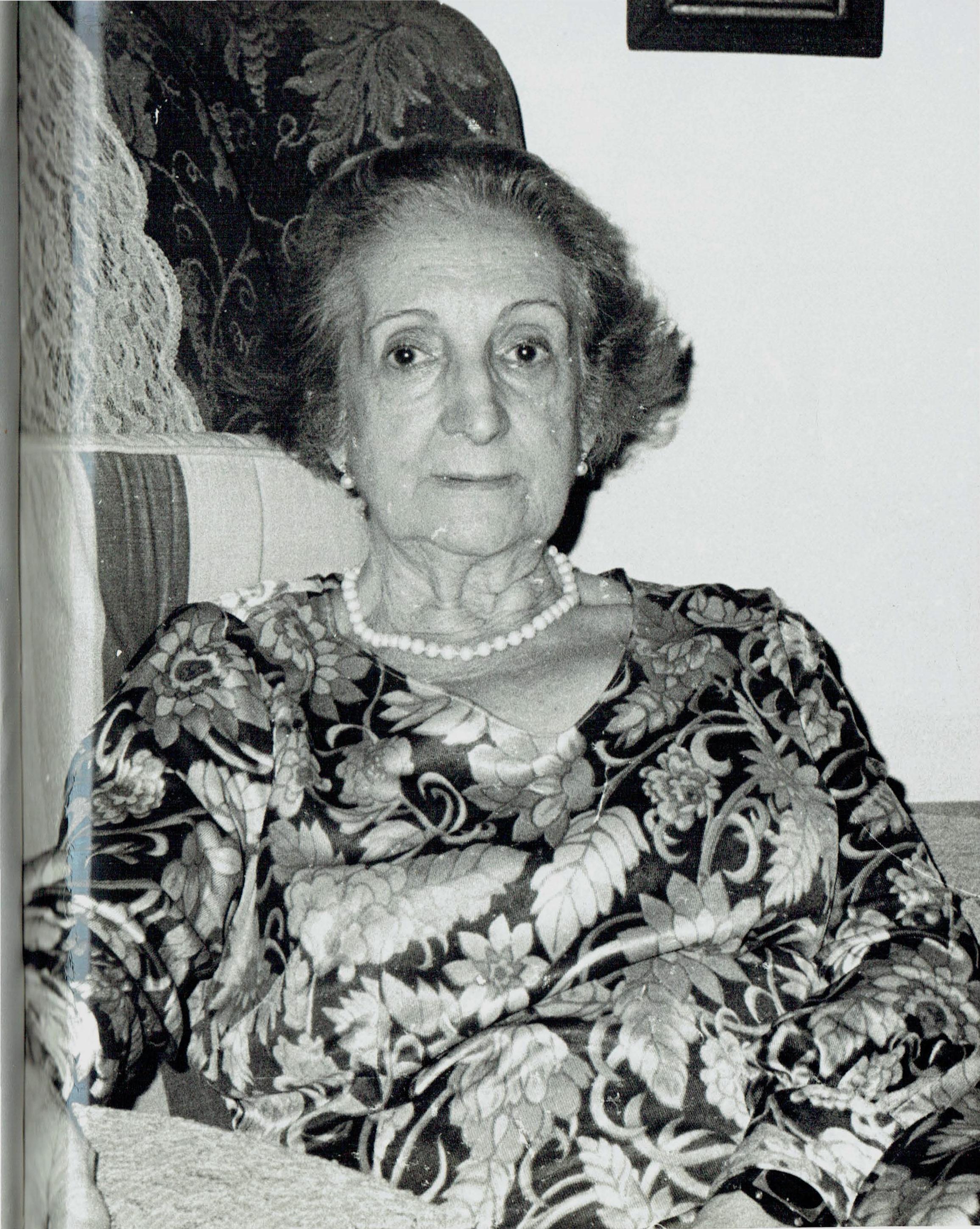Entrevista realizada a Florinda San Agustín Labrada, realizada en su domicilio particular por Dolores Pla