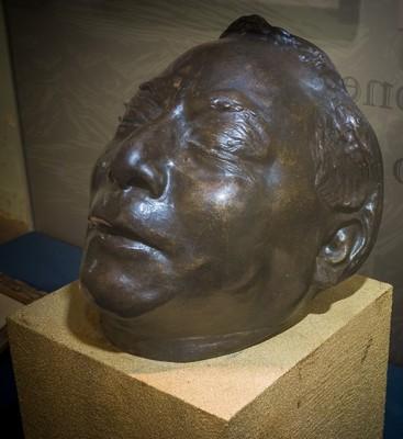 Máscara mortuoria del Lic. Benito Juárez