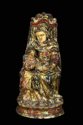 Santa Ana con la Virgen niña