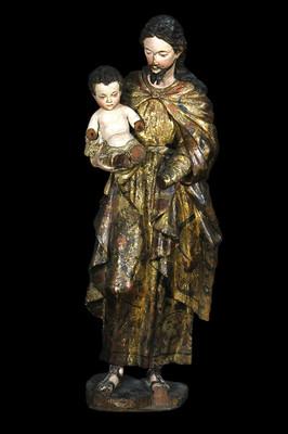 San José con Niño Jesús