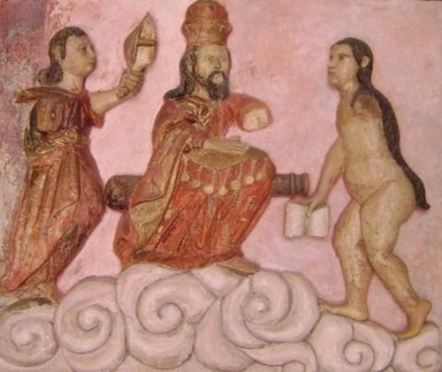 Martirio de Santa Bárbara (fragmento)