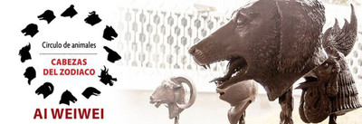 Ai Weiwei, Circulo de Animales, Cabezas del Zodiaco