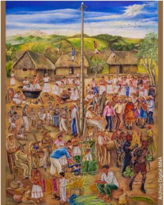 El Carnaval Otomí: La fiesta de los ancestros y de la tierra