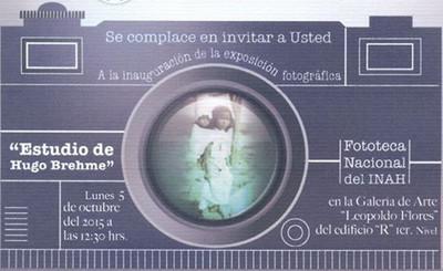 "Exposición individual ""Estudio Hugo Brehme"""