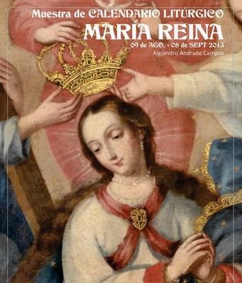 Muestra de Calendario Litúrgico: María Reina