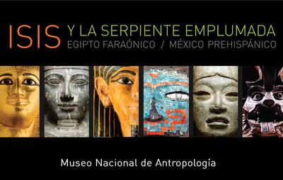 Isis y la serpiente emplumada. Egipto Faraónico/ México Prehispánico