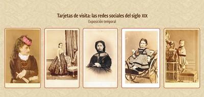 Tarjetas de visita: las redes sociales del siglo XIX