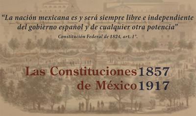 Las Constituciones de México 1857-1917