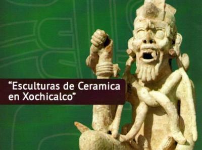 Esculturas de Cerámica en Xochicalco