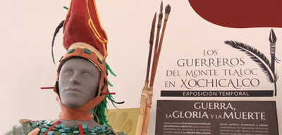 Los guerreros del monte Tláloc en Xochicalco