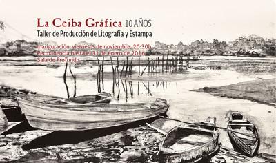 La Ceiba Gráfica. Taller de producción de litografía y estampa