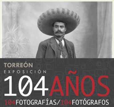 104 años. 104 fotografías/104 fotógrafos.