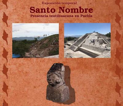 Santo Nombre, presencia teotihuacana en Puebla