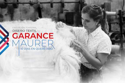 Diseño textil de Garance Maurer 10 días en Querétaro