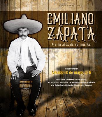 Emiliano Zapata. A cien años de su muerte
