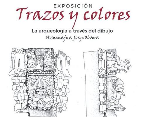 Trazos y colores. La arqueología a través del dibujo
