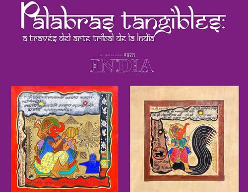 Palabras tangibles, a través del arte tribal de la India