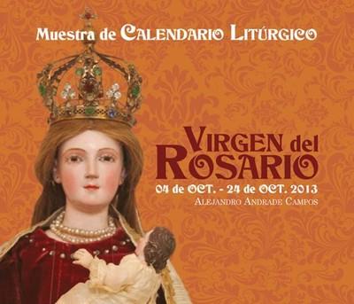 Muestra de Calendario Litúrgico: Virgen del Rosario