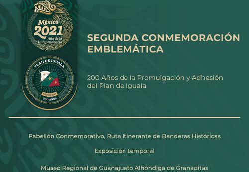 200 años de la promulgación del Plan de Iguala. Día de la Bandera