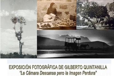 La cámara descansa, pero la imagen perdura, exposición fotográfica de Gilberto Quintanilla