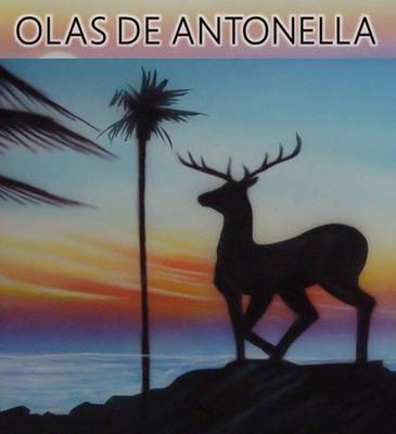 Olas de Antonella del artista venezolano José María González
