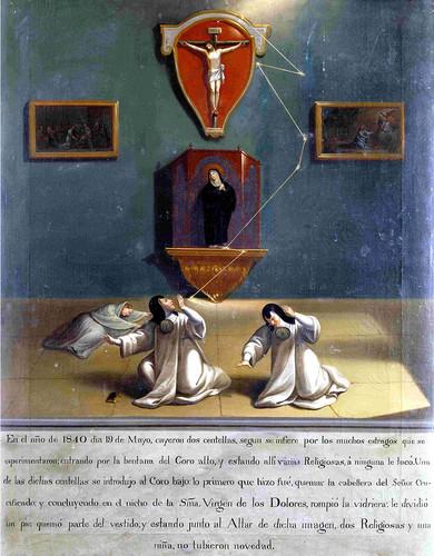 Exvoto a Cristo y a la Virgen de los Dolores