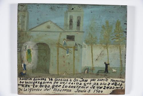 San José/ Caida de un andamio/ Vizarron