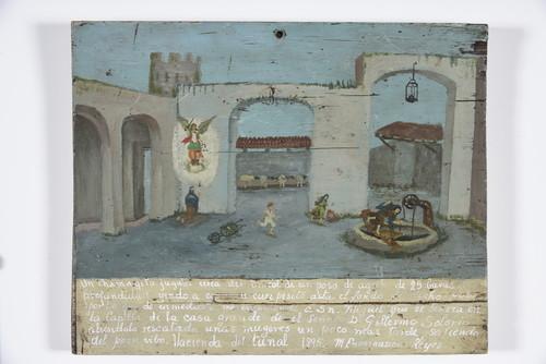 San Miguel Arcángel/Se cayo un niño al pozo de agua/Hacienda del Tunal