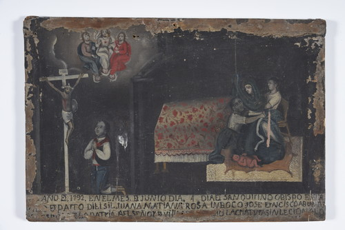 Señor de Villaseca y Santísima Trinidad/ Parto dificil