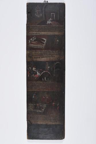 Puerta con cuatro exvotos Ecce Homo