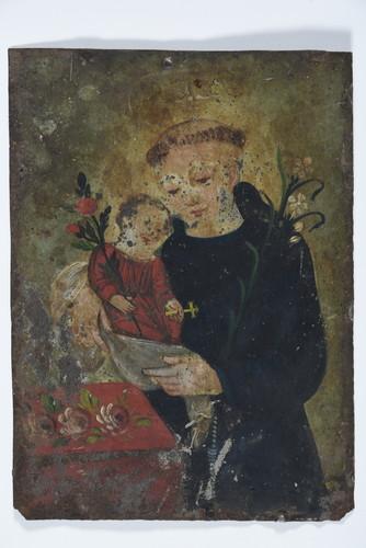San Antonio con el niño Jesus
