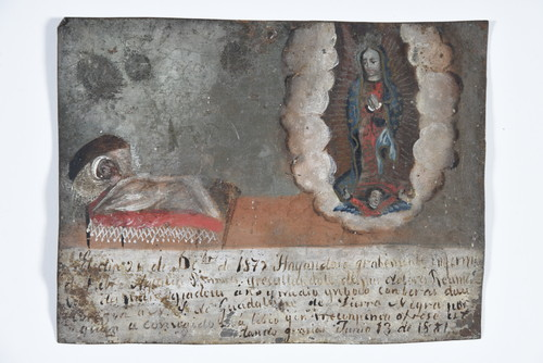 Virgen de Guadalupe Tierra negra/ Enfermedad Reumatismo