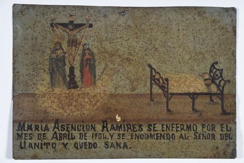 Sr. Del Llanito con María y José