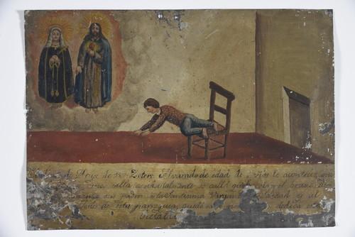 Virgen de la Soledad y Sagrado Corazón Jesús