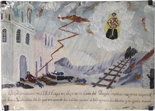 Exvoto del milagro realizado a Eufrosina Nieto