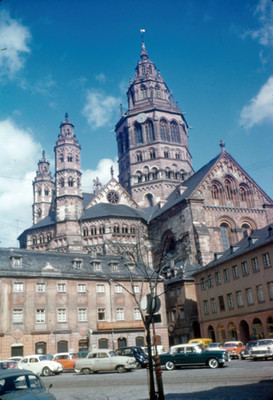 Catedral romanica de Mainz