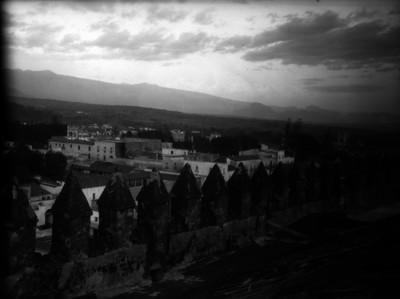 Panoramica de la ciudad de Cuernavaca, vista desde el palacio de Cortés