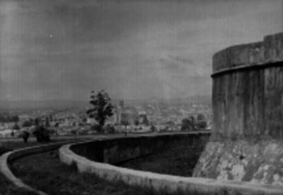 Ciudad de Puebla, vista desde el fuerte de Loreto