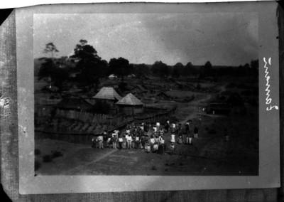 Indígenas en un poblado purépecha