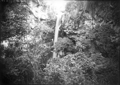 Cascada, panorámica