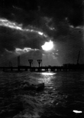 Muelle del puerto de Veracruz, panorámica