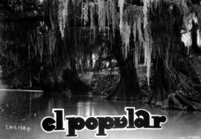 Lago, panorámica, publicación de El Popular