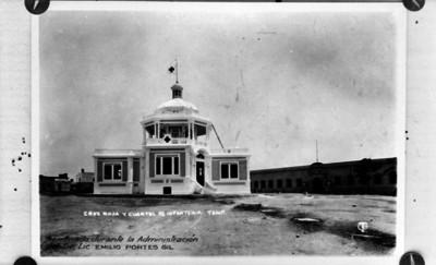 Cruz Roja y cuartel de infantería, Tamaulipas