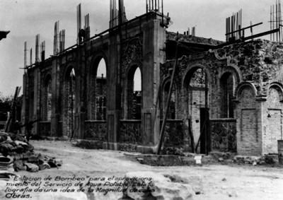 Construcción de una estación de bombeo
